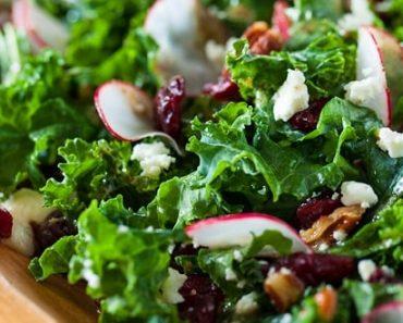 Healthy Kale Salad Recipe
