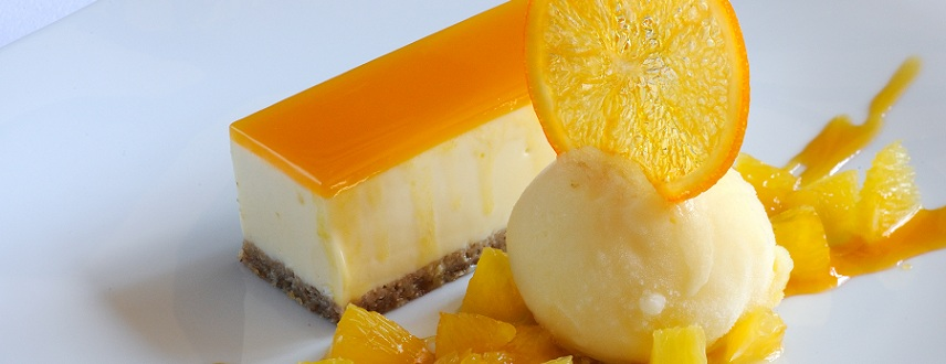 Brazilian Passion Fruit Mousse Cake Recipe