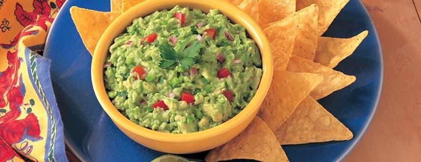 Mexican Guacamole Dip Recipe