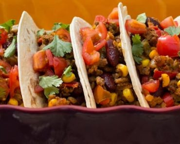Red-Kidney Bean Tacos Recipe