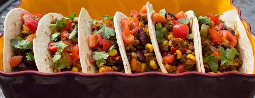 Red-Kidney Bean Tacos Recipe