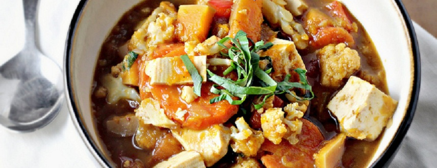 Thai Panang Vegetable Curry Recipe