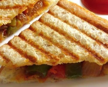 Vegetabe Grilled Sandwich Recipe