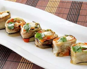 Vegetable Sushi Rolls Recipe