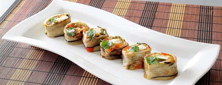 Vegetable Sushi Rolls Recipe