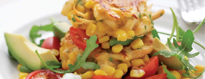 Corn Patties Recipe