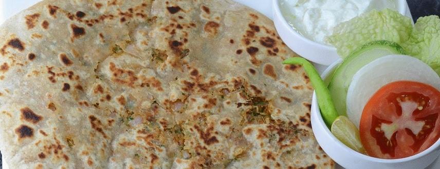 Onion Paratha Recipe