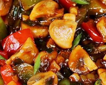 Chilli Mushroon Dry Recipe