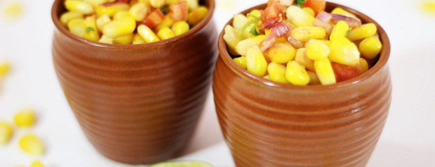 how to prepare sweet corn at home