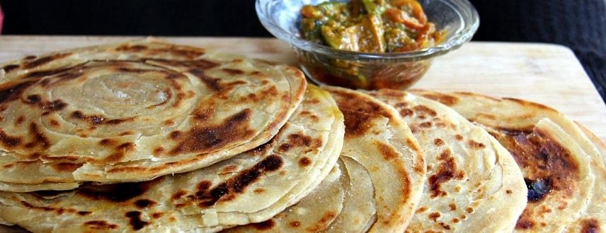 Lachedar Paratha Recipe