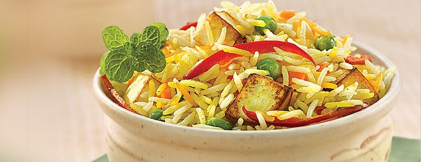 Paneer Pulao Recipe