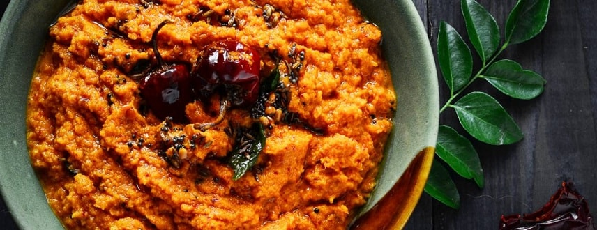 Red Chutney Recipe