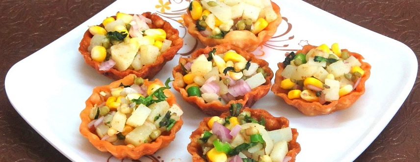 List of different types of chaat recipes