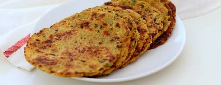List of different types of parathas