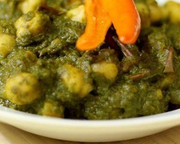 Chole Palak Recipe