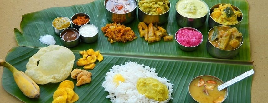 Benefits of Eating Food on Banana Leaf