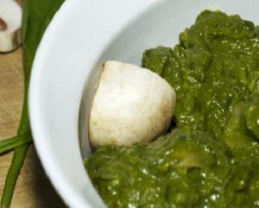 Palak Mushroom Recipe
