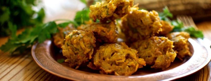Rice Pakora Recipe