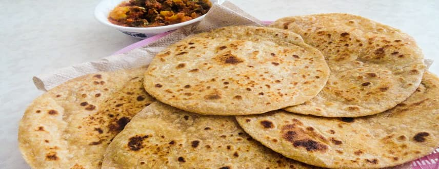 Paratha Recipe - How to make Plain Paratha