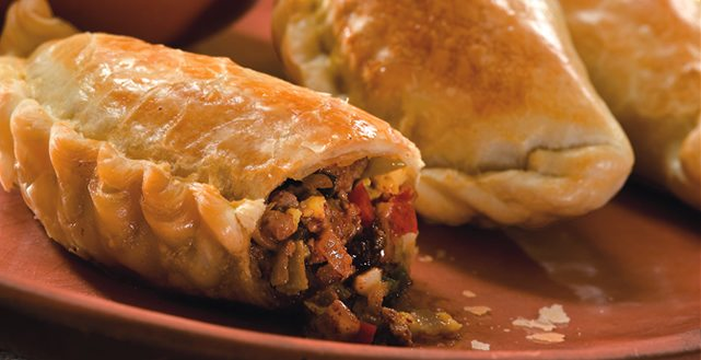 Here is our recipe for the Spanish empanada.