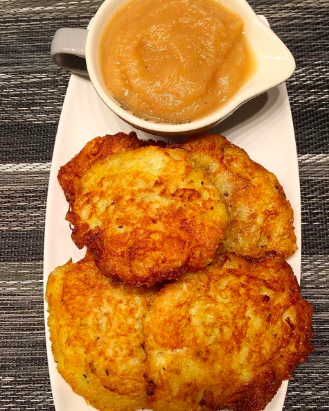 German Kartoffelpuffer