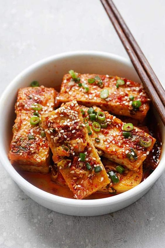 Korean Spicy Tofu