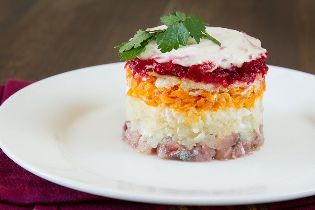 Dressed Herring Salad