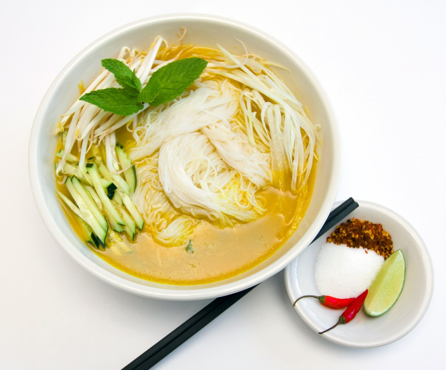 Nom Banh Chok: How To Make Cambodian Khmer Noodles – DesiDakaar